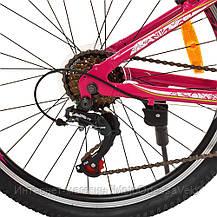 Велосипед детский PROF1 20 Д.  G24CARE A24.1 розовый, фото 3