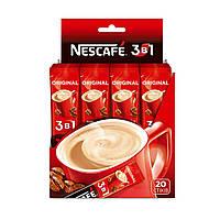Напиток кофейный быстрорастворимый микс NESCAFE 3 в 1 Original 20 x 13 г