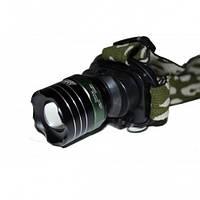 Налобный фонарь Bailong BL-6801-1 Cree XP-G, 300 люмен, 3 режима