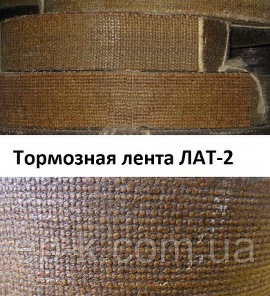 Тормозная лента ЛАТ-2 ГОСТ 1198-93, ЭМ, фото 2