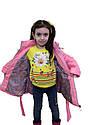"""Детская удлиненная куртка с сумочкой """"Валентинка"""", фото 7"""