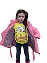 """Детская удлиненная куртка с сумочкой """"Валентинка"""", фото 9"""