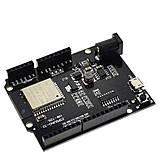 WeMos D1 R32 ESP32 4 Мб флэш WI-FI Bluetooth двухъядерный процессор CH340 CH340G размер UNO R3, фото 2