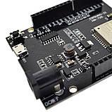 WeMos D1 R32 ESP32 4 Мб флэш WI-FI Bluetooth двухъядерный процессор CH340 CH340G размер UNO R3, фото 4