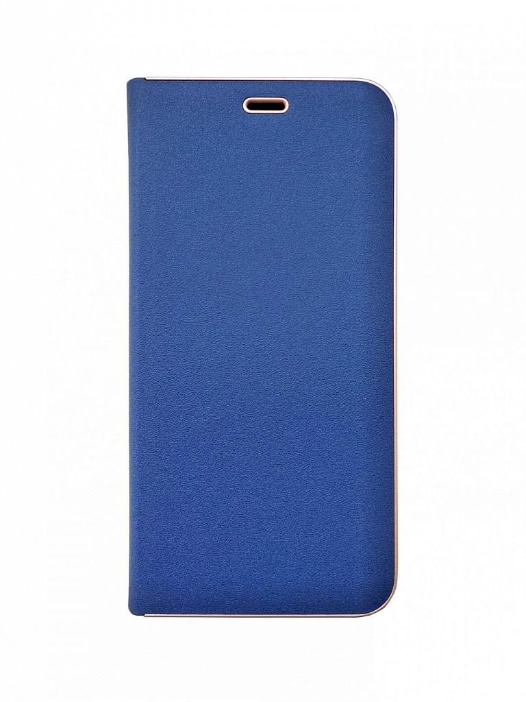 Чехол-книжка для Samsung Galaxy J4 2018 J400 Florence TOP №2 синяя