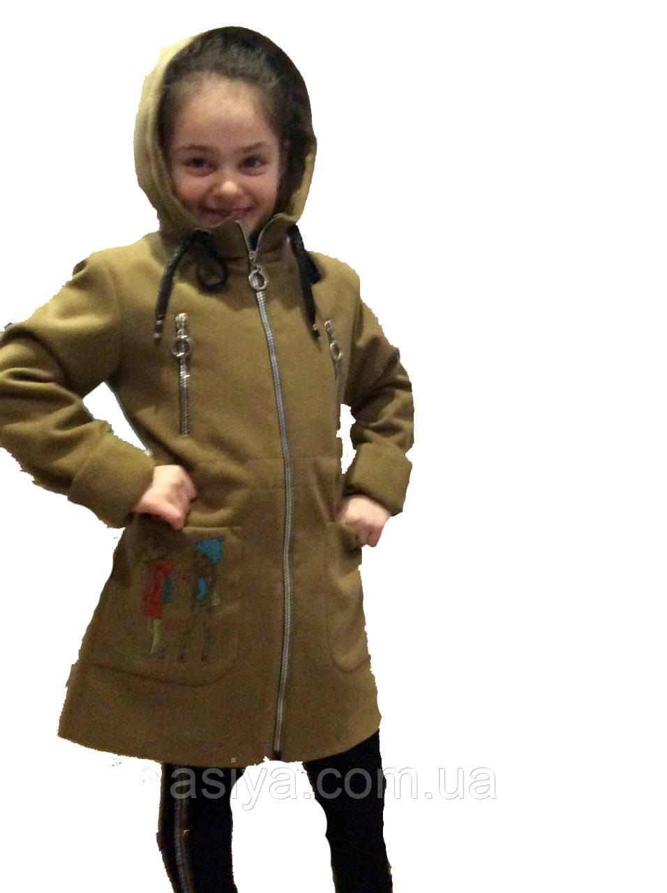 "Подовжене кашемірове пальто ""Подружка"""