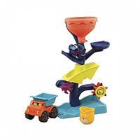 Набор для игры с песком и водой - МЕЛЬНИЦА (в комплекте машинка, ведерце) Battat Summery BX1310Z