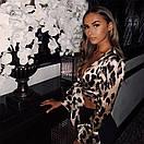 Леопардовая блуза из мультишифона, фото 3