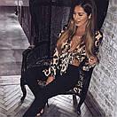Леопардовая блуза из мультишифона, фото 5