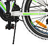Велосипед детский PROF1 20 Д. G20A315-L-3W бело-салатовый, фото 2