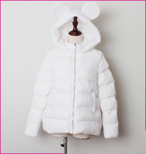 Куртка демисезонная для девочек «Ушки», размеры на рост 86 - 146