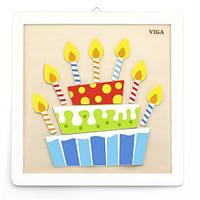 """Набір для творчості Viga Toys """"Своїми руками. Торт"""" (50684), фото 1"""