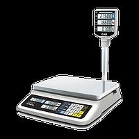 Весы торговые CAS PR-15 II Р (6 кг, 15 кг, 30 кг)