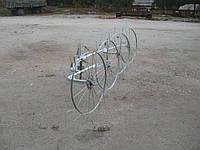 Грабли-ворошилки Солнышко ТМ Ярило (2,5 м, 4 колеса)