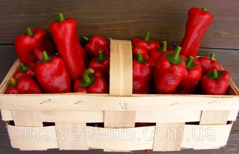 Перец красный болгарский сушеный хлопьями 1кг/ упаковка