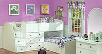 Кровать-чердак для двух детей КЧД 123