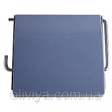 Держатель для туалетной бумаги (голубой)
