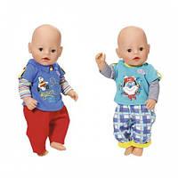 Набор одежды для куклы BABY BORN - МАЛЫШ НА ПРОГУЛКЕ (2 в ассорт.) Zapf 823927