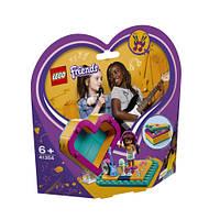 Лего Friends Коробка-серце з Андреа 41354