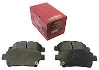 Колодки тормозные передние (EU, MOGEN) MK BYD F3 FC SL GC6 1014003350 1061001401 10375093-00