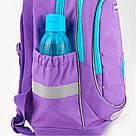 Рюкзак школьный Kite Education для девочек Lovely Sophie 36x27x16 см 21,5 л Фиолетовый (K19-724S), фото 9