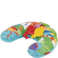 Музыкальная массажная подушка для игры на животике Fisher Price Тропические друзья