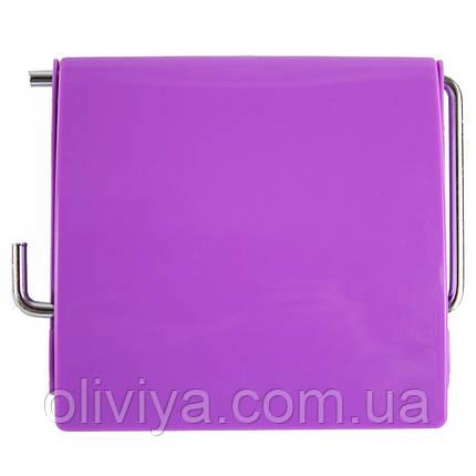 Держатель для туалетной бумаги (фиолетовый), фото 2