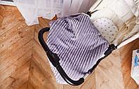 Комплект постельного белья в коляску (одеяло, подушка, простынка), фото 1
