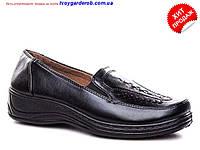 Женские туфли-мокасины р 37-42(код 2758-00)