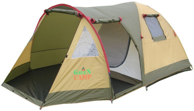 Трехместная палатка GreenCamp X-1504