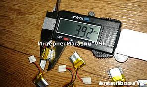 Акумулятор для блютуз стіна розмір 15.97*11.66*3.9 мм 100 mAh