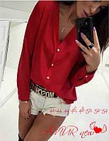 Женская рубашка на пуговицах ,модная рубашка ,красивая рубашка