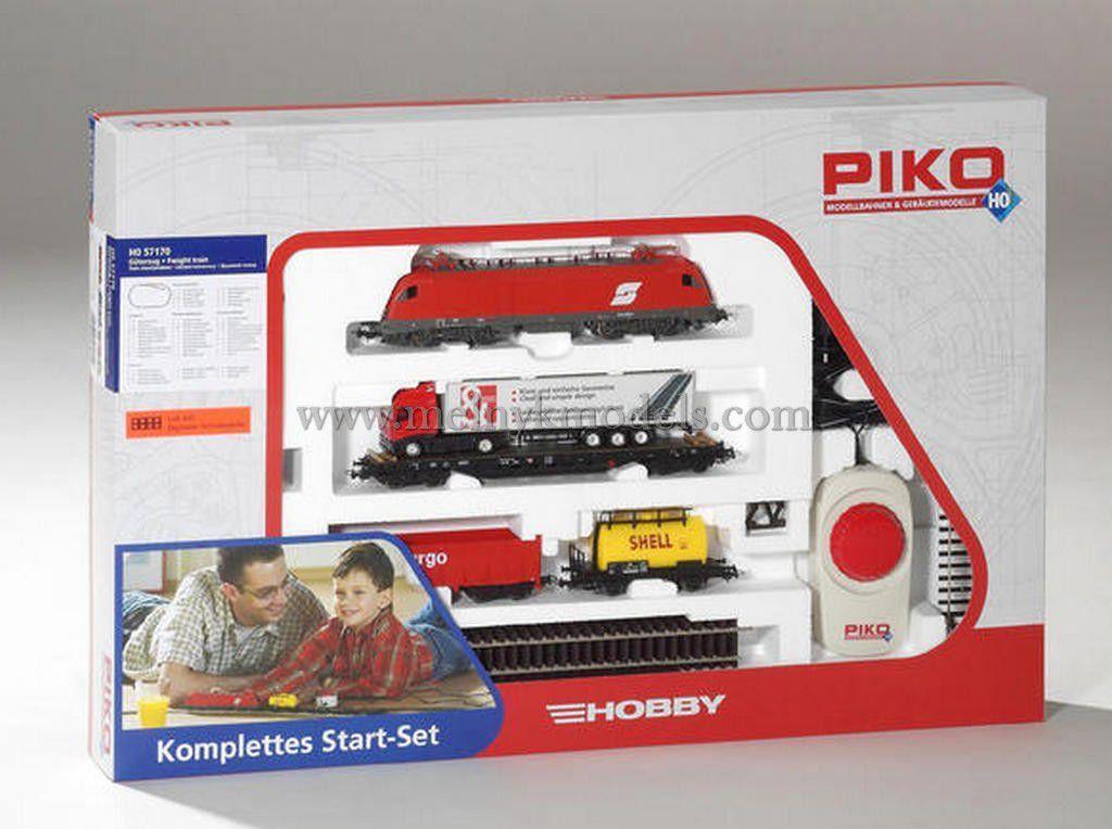 Piko 57170 Детская Железная дорога / Стартовый набор грузовой поезд  1/87
