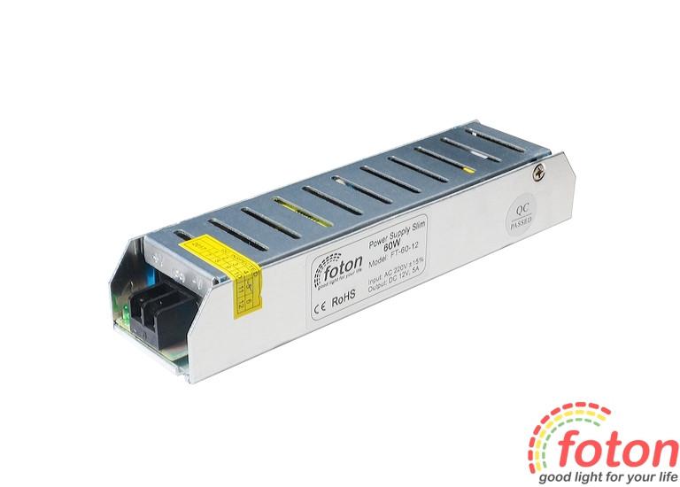 Блок живлення FT-60-12 Slim Premium (160 x 40 x 29 мм)