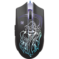 Мышь Defender Ghost GM-190L USB Black (52190)