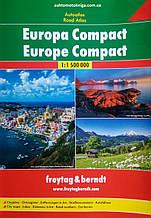 Атлас автомобильных дорог Европы   Europa Compact   1 : 1 500 000