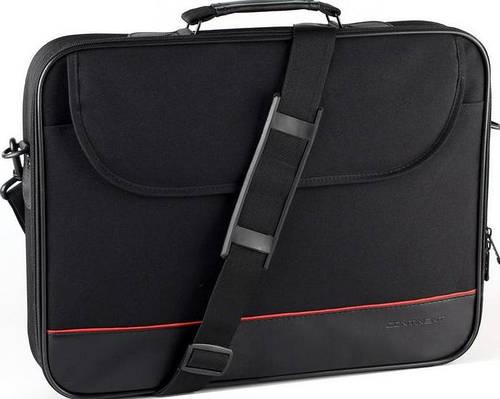 Легкая мужская сумка для ноутбука до 16'' Continent CC-100 черный