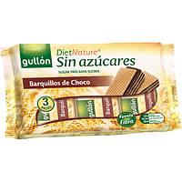 Вафли без сахара шоколадные  Gullon 180гр (3 пачки)  Испания, фото 1