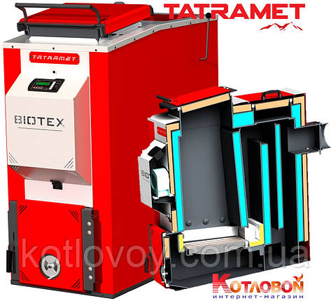 Твердопаливний котел утилізатор Tatramet BIOTEX, фото 2