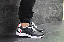 Мужские кроссовки Reebok Sublite,кожаные,темно синие, фото 2