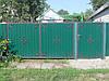 Ворота, калитки из профнстила, фото 5