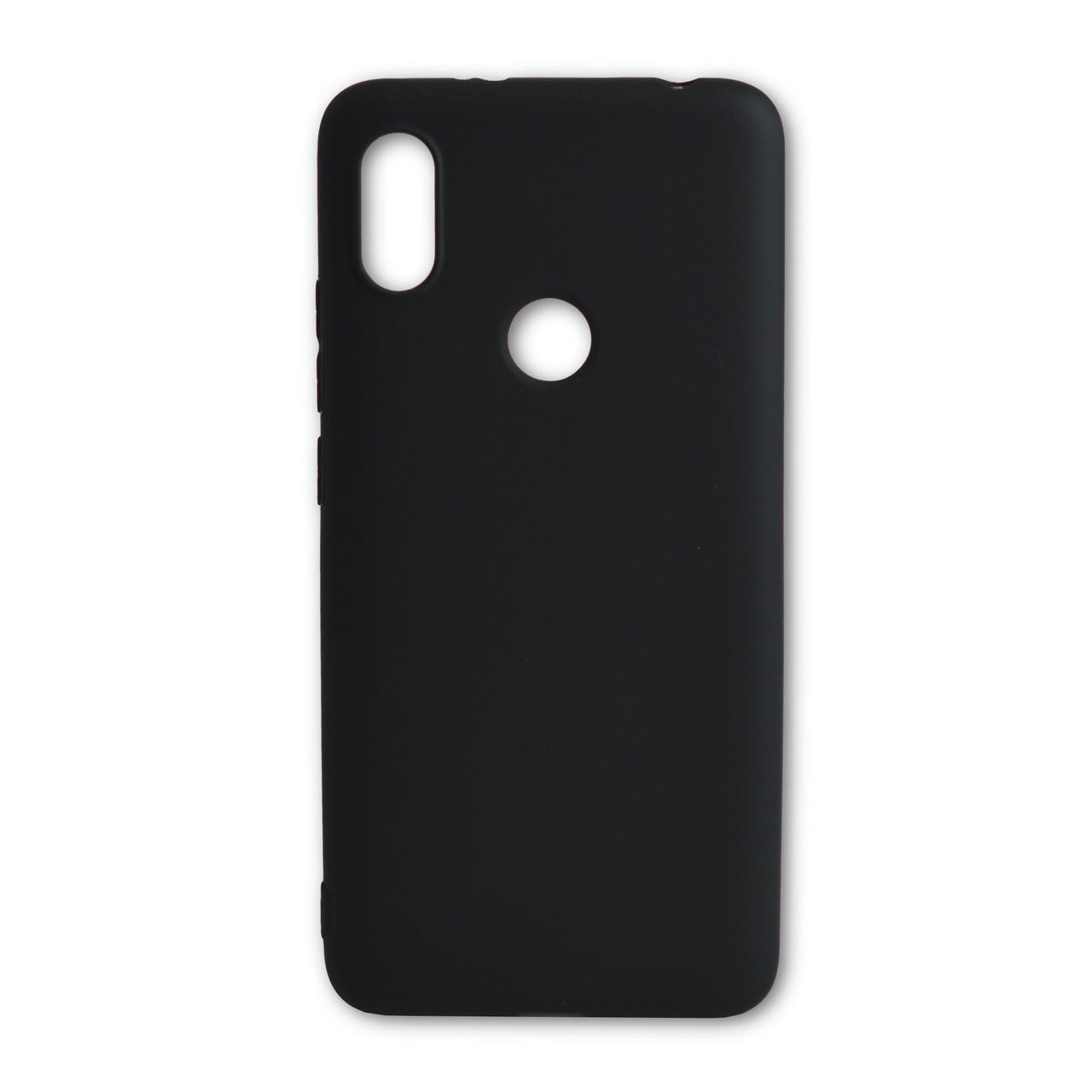 Силиконовый чехол Man for Xiaomi Redmi Note 5 Pro Black / чехол для сяоми редми ноте 5 про черный / силиконовый чехол на Xiaomi Redmi Note 5 Pro