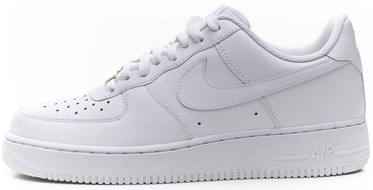 13e8a11d Мужские Кроссовки Nike Air Force Low White (найк Аир Форс, Белые ...