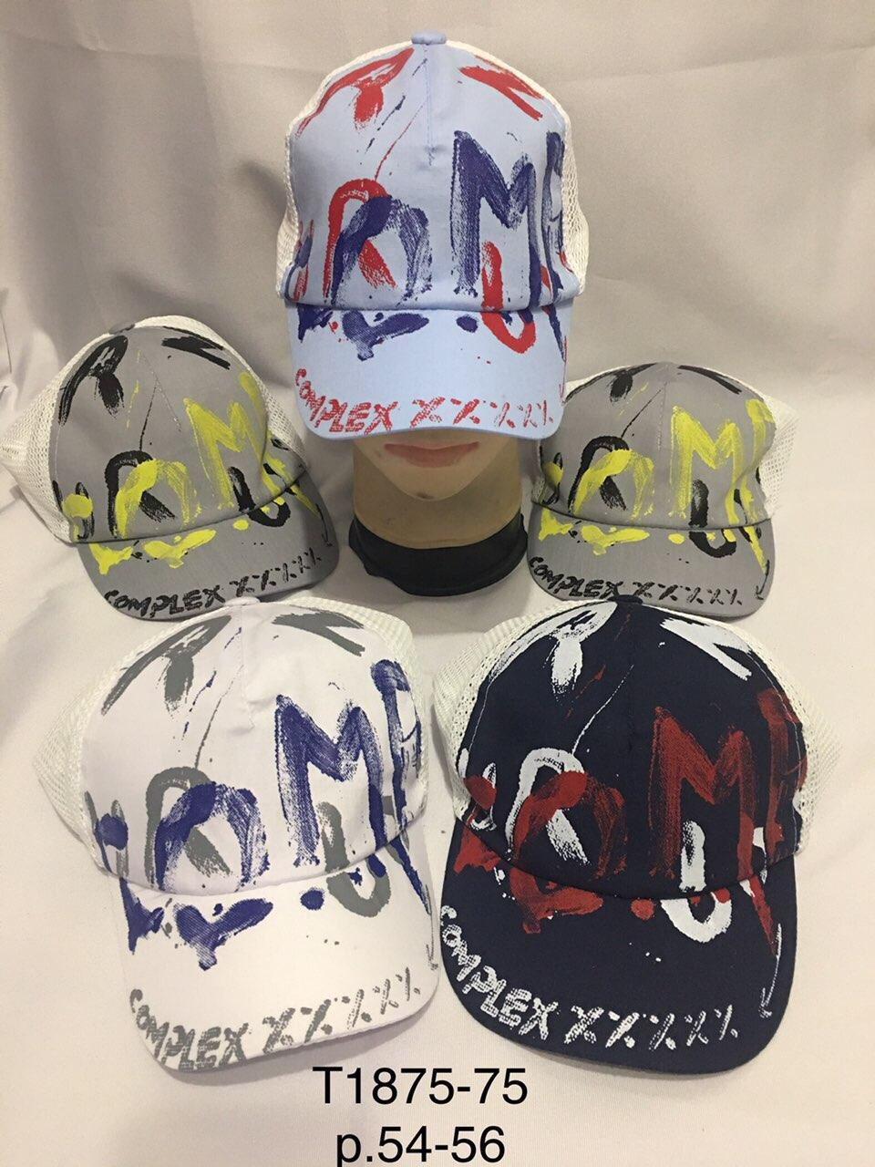 Стильная летняя кепка для мальчика р.54-56