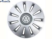 Колпаки R15 Volkswagen серые Rex