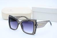Солнцезащитные очки круглые Sw 503 серые
