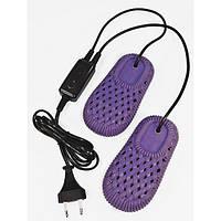 Электрическая сушилка для обуви с озоном ДОМОВЕНОК Комфорт ЕС 12/220