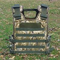 Чехол бронежилета ММ14 Укр Пиксель Plate Carrier плитоноска ЗСУ ВСУ