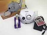 Фрезер для маникюра/педикюра Nail Master ZS-601 PRO WHITE, фото 5