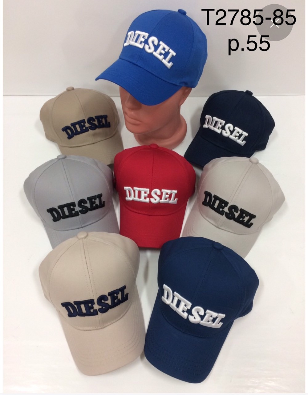 Річна кепка для хлопчика Diesel р. 55